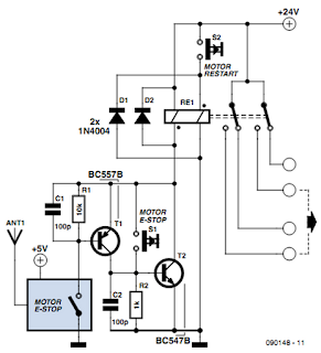Raj's thoughts.....: Wireless and Wired Emergency Stop System